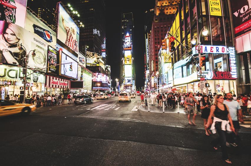 碧山旅行-美国旅游-游览全球最繁华街区 感受纽约