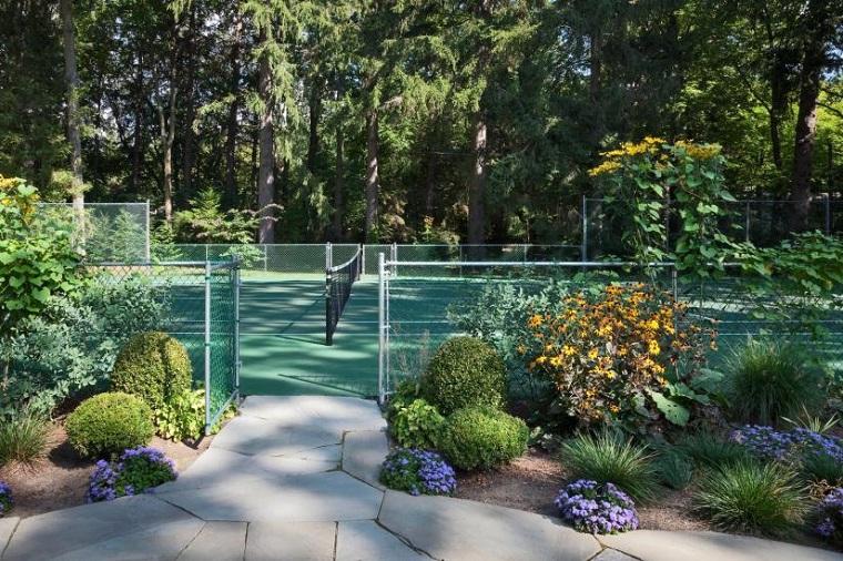 碧山旅行-芬芳萦绕,打一场畅意网球