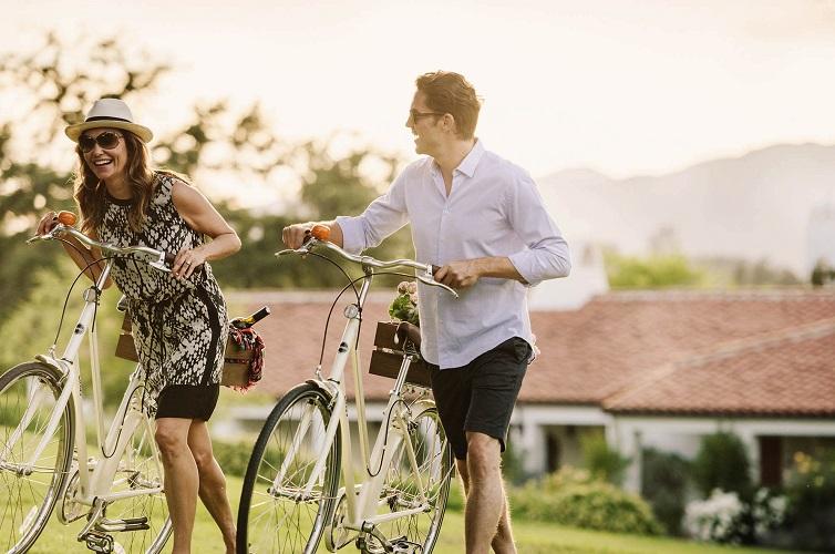 碧山旅行-脚踏自行车,感受拂面的清风