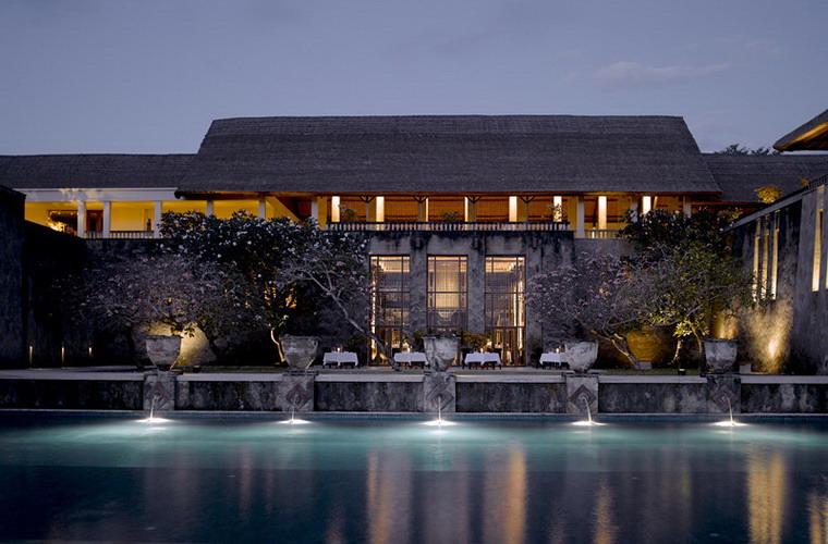 碧山旅行-安缦努沙酒店餐厅