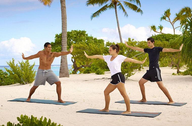 碧山旅行-修炼瑜伽