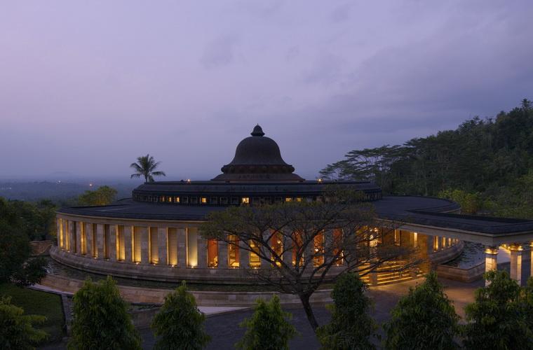 碧山旅行-黄昏时的美丽风景