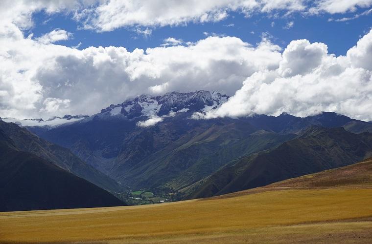 碧山旅行-雄伟的Humantay冰川