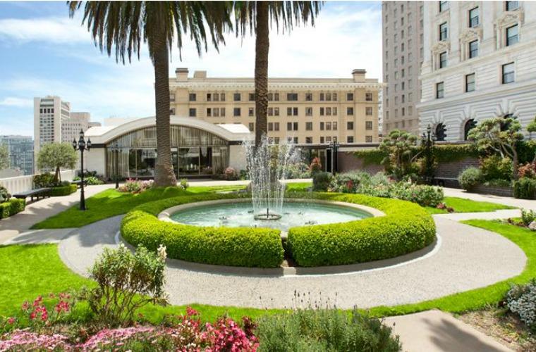 碧山旅行-旧金山Fairmont San Franciso酒店